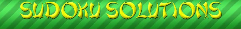 Sudoku Solutions link banner